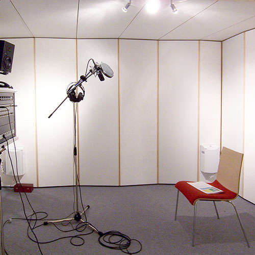 Recording booth voice over booth STUDIOBOX Professional
