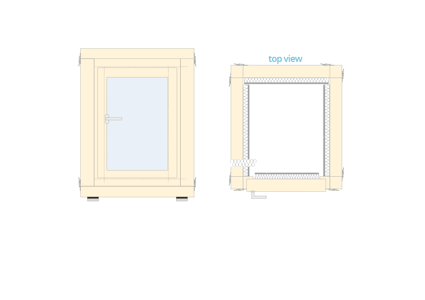 Acoustic chamber dimensions