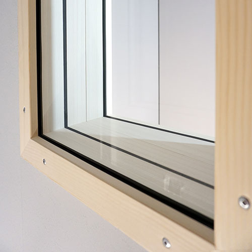 Sound insulation window STUDIOBOX studio and audio booth