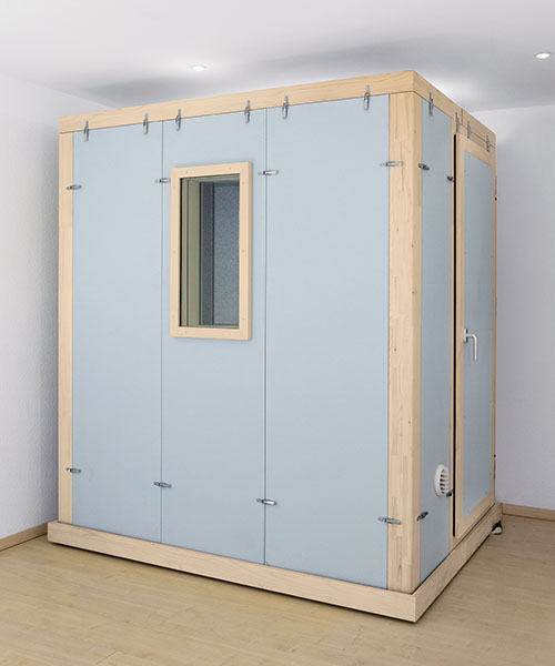Soundproof working booth for musicians STUDIOBOX